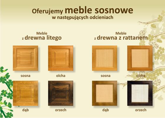 Meble sosnowe  łóżka komody biurka  Hebo Lublin